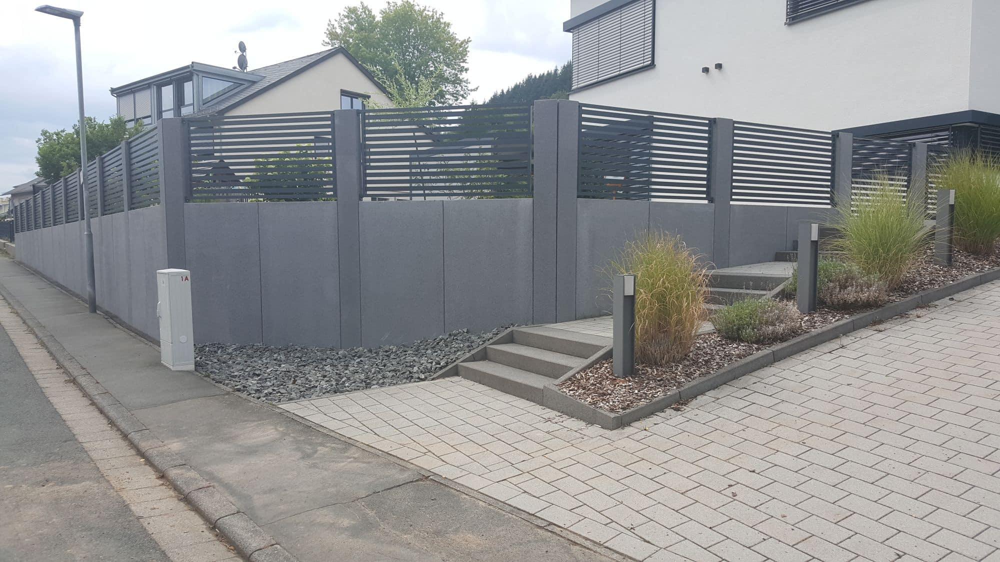 Außenanlage Wohnhaus | 2019