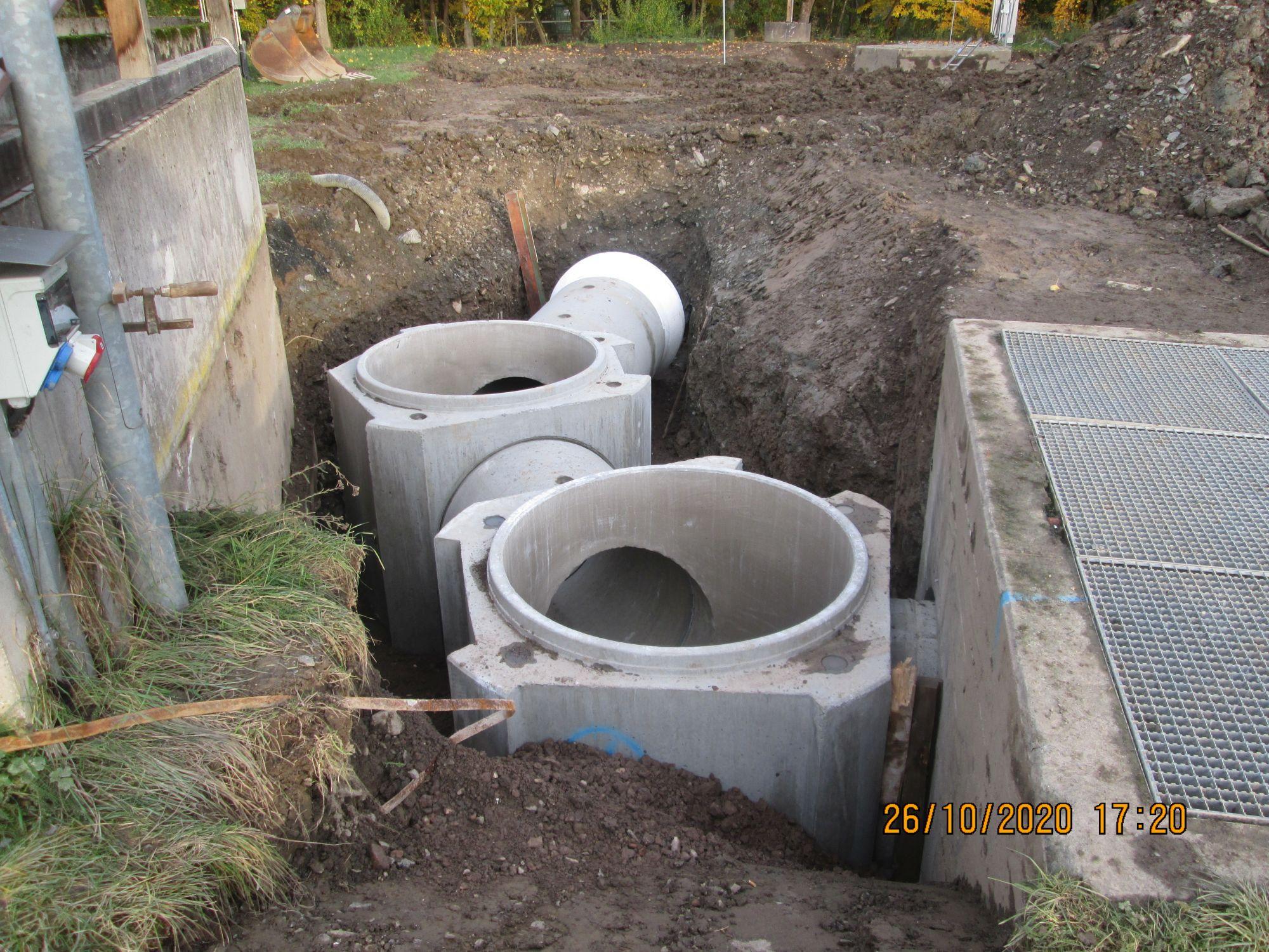 Neubau Filtrationsanlage, Kläranlage Wallau | 2020