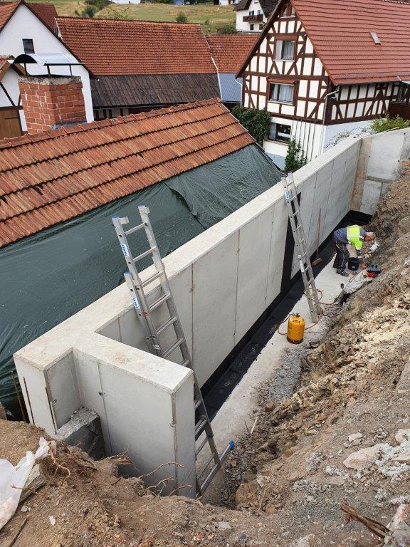 Sanierung Stützmauer | 2020